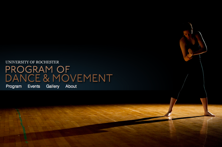 University of Rochester Department of Movement & Dance